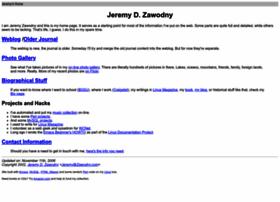 Jeremy.zawodny.com
