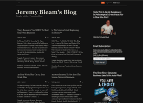 jeremybleam.wordpress.com