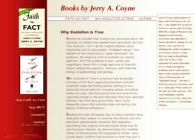 jerrycoyne.uchicago.edu