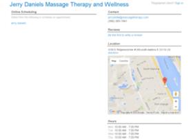 jerrydanielsmassagetherapy.fullslate.com