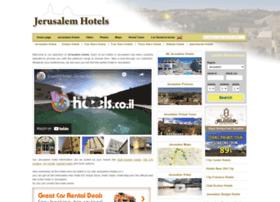 jerusalem-hotels.co.il