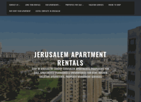 jerusalemapartmentrentals.wordpress.com