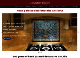 jerusalempottery.biz