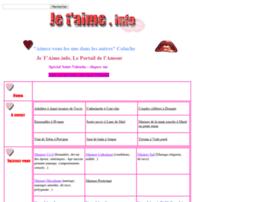jetaime.info