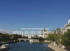 jeudepaumehotel.com