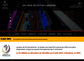jeux.francophonie.org