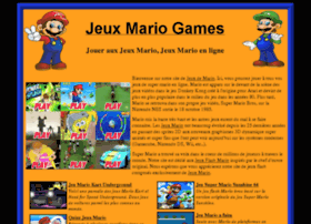jeuxmariogames.com