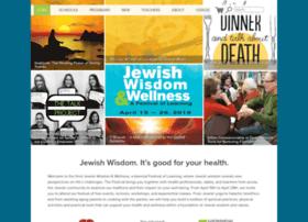 jewishwisdomandwellness.org