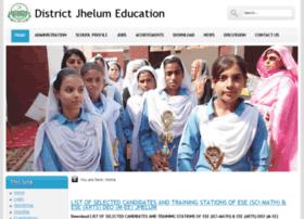 jhelum.edu.pk