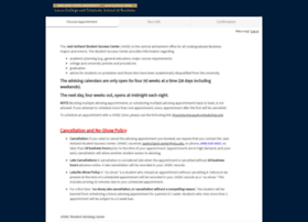 jhsscadvising.acuityscheduling.com