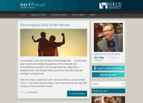 jimdaly.focusonthefamily.com