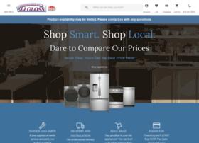 jjglossappliance.com