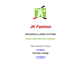 jkfashion.com