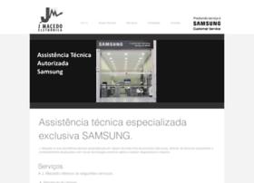 jmacedoeletronica.com.br