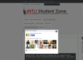 jntustudentzone.com