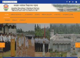 jnvgarhwa.org