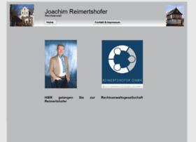 joachim-reimertshofer.de