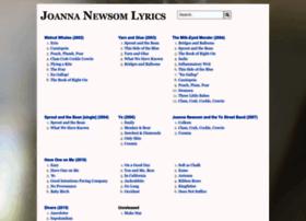 joannanewsomlyrics.com