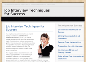 job-interview-techniques-for-success.com