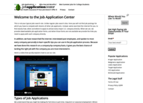 Jobapplicationcenter.com