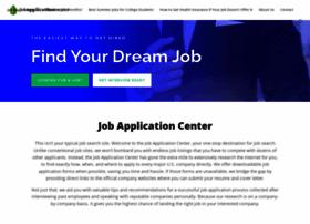 jobapplicationcenter.com