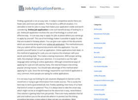 jobapplicationform.us
