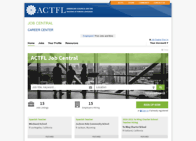 jobcentral.actfl.org