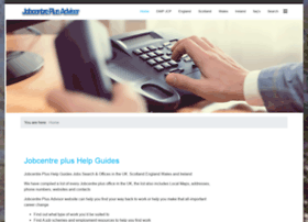 jobcentreplusadvisor.co.uk