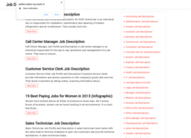 jobdescription.org
