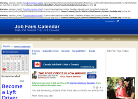 jobfairscalendar.com