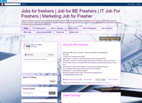 jobforfreshers-s.blogspot.in