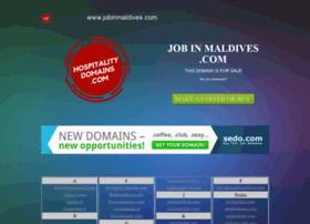 jobinmaldives.com