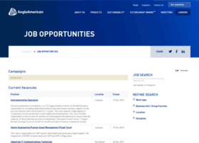 jobopportunities.angloamerican.com