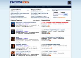 jobpostingkorea.com