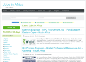 jobs-in-africa.co