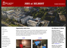 jobs.belmont.edu