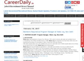jobs.careerdaily.in