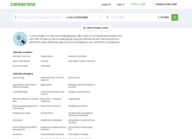 jobs.careerone.com.au