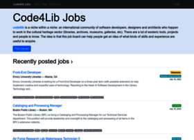 jobs.code4lib.org