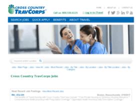 jobs.crosscountrytravcorps.com