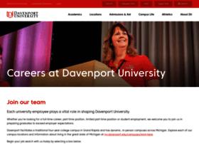 jobs.davenport.edu