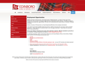 jobs.edinboro.edu