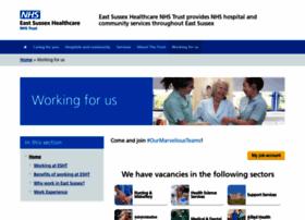 jobs.esht.nhs.uk