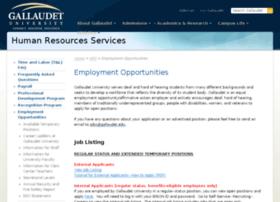 jobs.gallaudet.edu