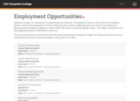 jobs.hampshire.edu