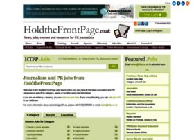jobs.holdthefrontpage.co.uk
