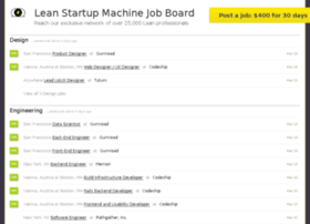 jobs.leanstartupmachine.com