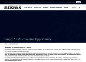 jobs.lincoln.ac.uk