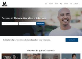 jobs.malonesolutions.com