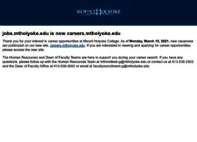 jobs.mtholyoke.edu